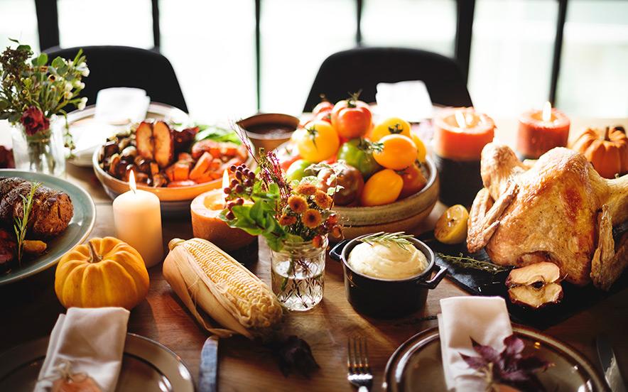 Regency Family Thanksgiving Meal