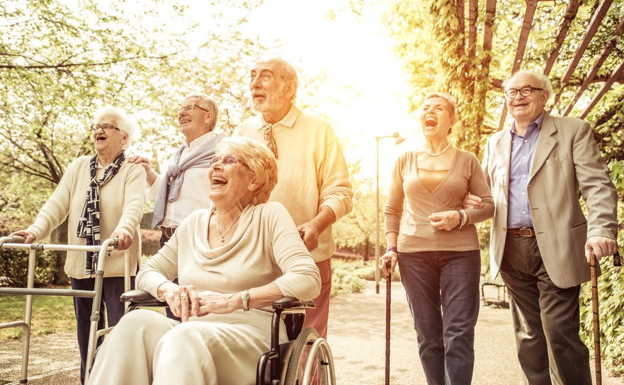 Regular exercise and active senior living can help boost the immune system and fight off illness.